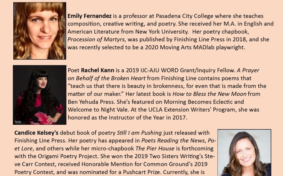 Women's History Month Poetry Reading